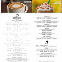 Starbucks Coffee FC Road Menu