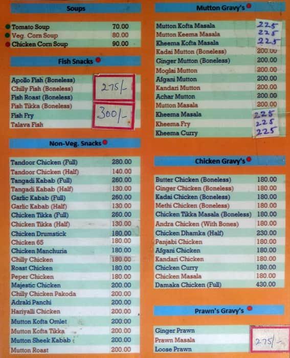 Handi biryani menu menu for handi biryani kacheguda hyderabad handi biryani kacheguda menu stopboris Image collections