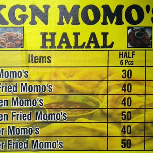 KGN Momos Menu, Menu for KGN Momos, Chakala, Mumbai - Zomato