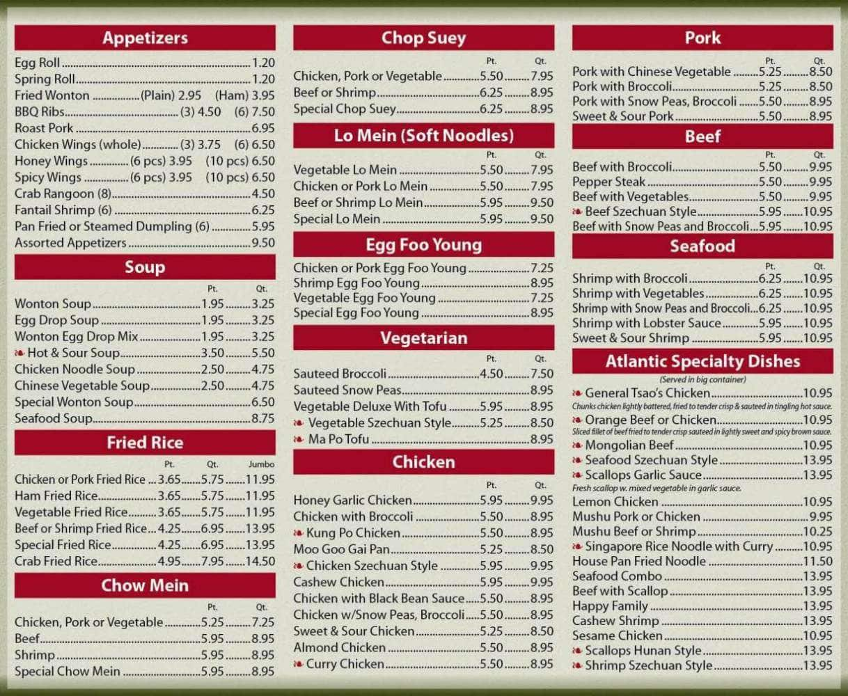 Wokano Asian Bistro Menu - Asian-6712