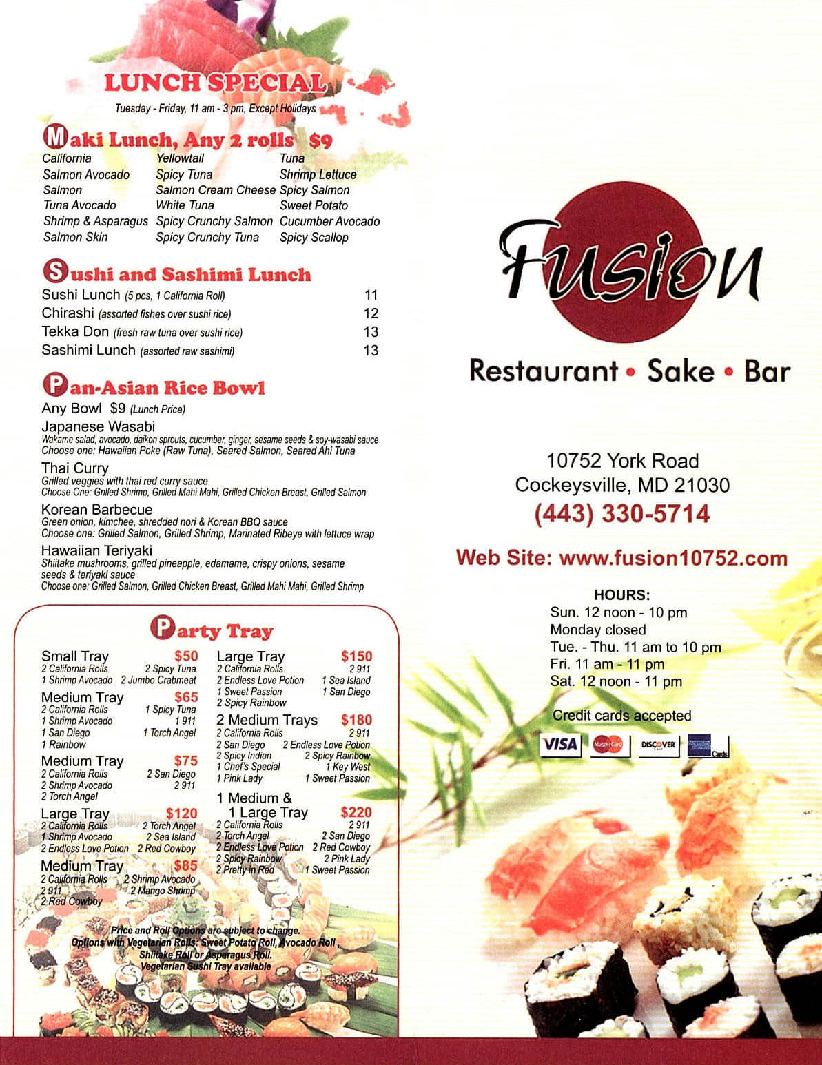 Asian Restaurants In Cockeysville Md