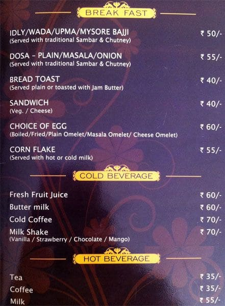 Hotel crystal 7 cuisine menu menu for hotel crystal 7 for Crystal 7 cuisine hyderabad