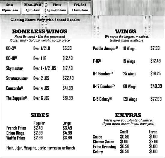 coupon code wings over greenville