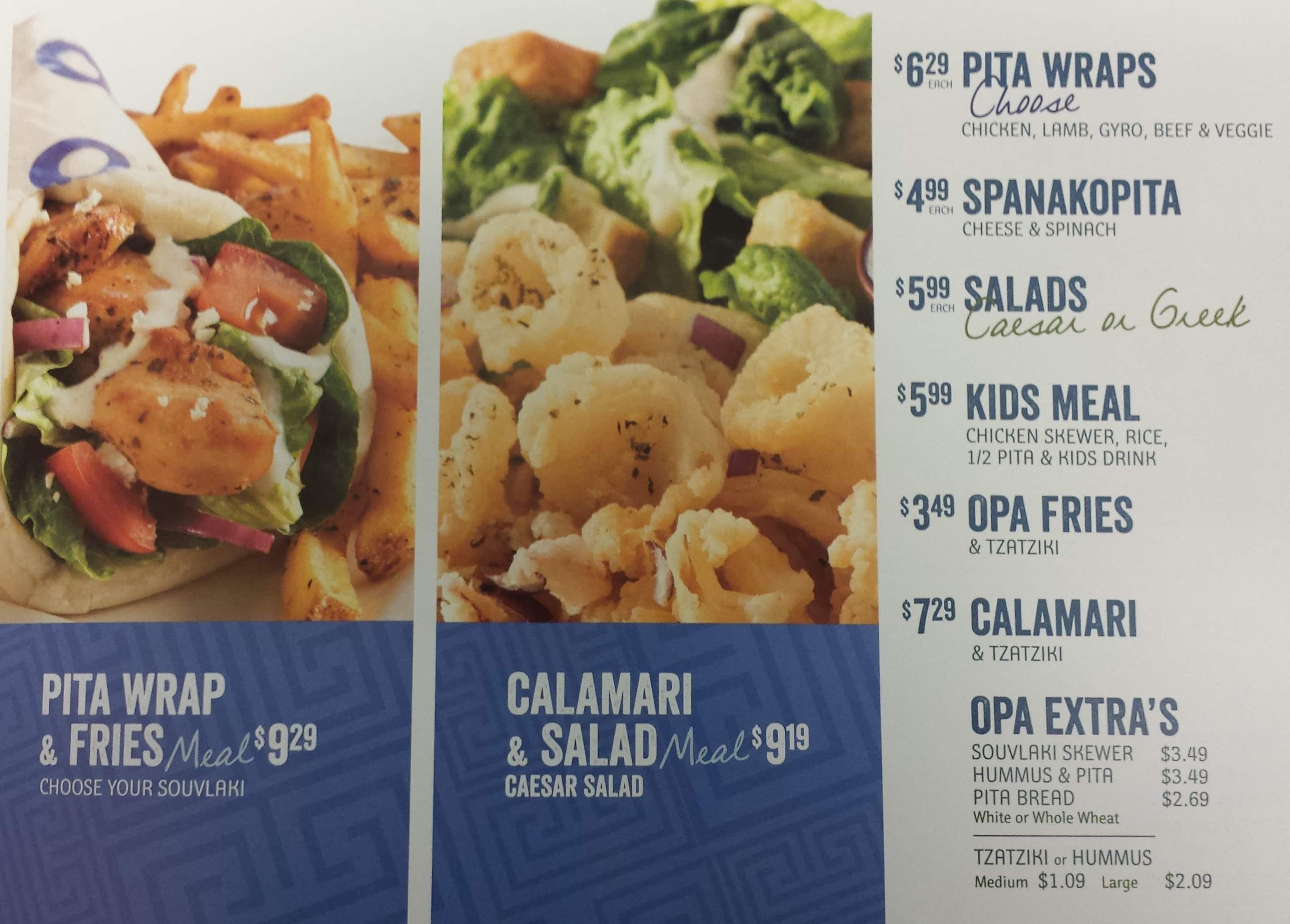 Fast Food Greek Food Calgary