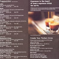 Menu - Starbucks - Coffee Shop in Lebanon - Foursquare
