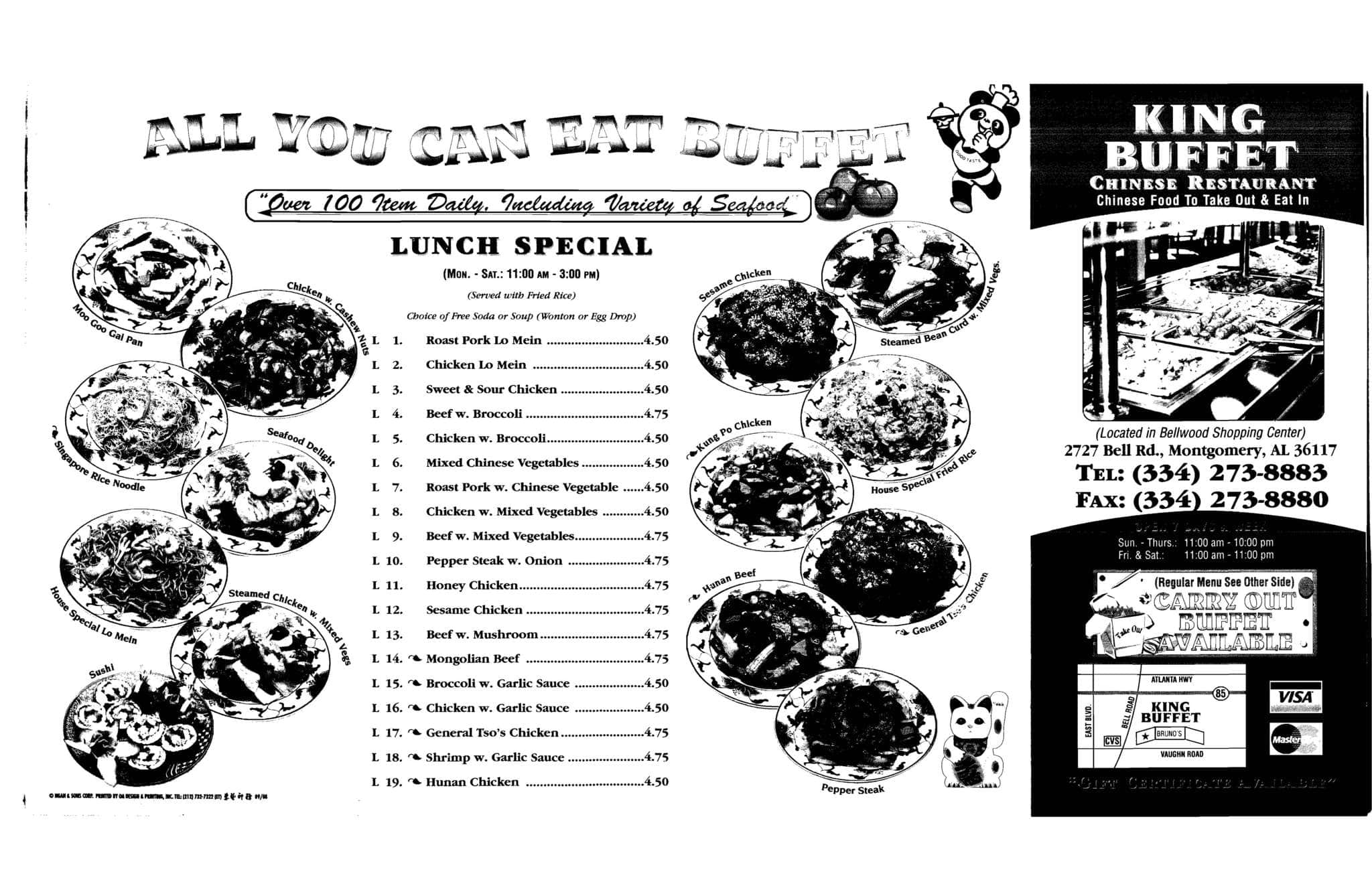 Fine King Buffet Menu Menu For King Buffet Montgomery Download Free Architecture Designs Scobabritishbridgeorg