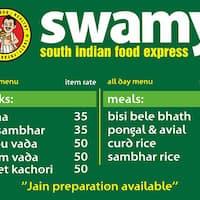 Swamy South Indian Food Express Manpada Thane West Thane Zomato