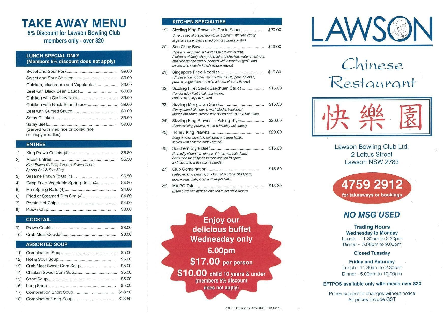 Thai Restaurant Wentworth Falls