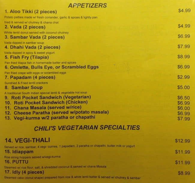 photo regarding Printable Chili's Menu referred to as Chilis Menu, Menu for Chilis, Higher education District, Seattle