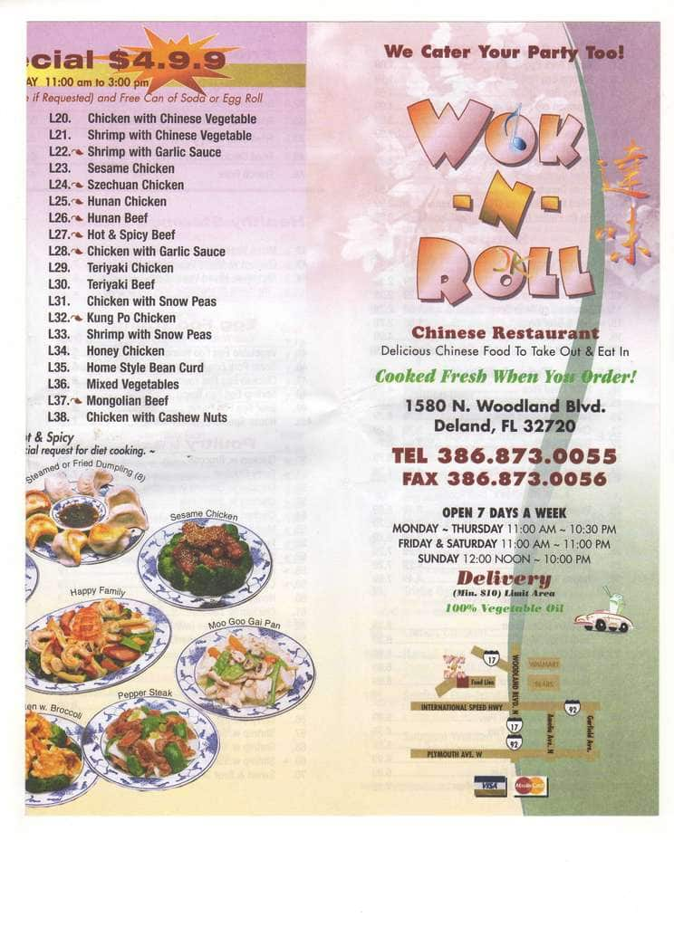 Chinese food deltona fl food for Lucky wok garden city