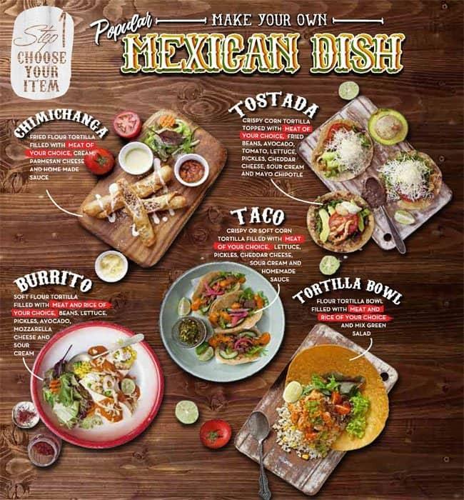La Hoya Comida Mexicana Menu Menu For La Hoya Comida