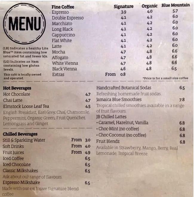 Cafe Blue Jamaica Facebook
