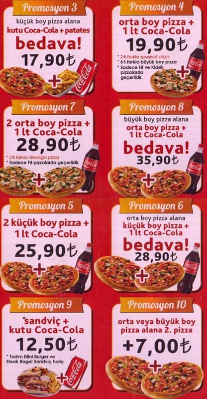 Tadım Pizza Menu Menu For Tadım Pizza Dikmen Ankara Zomato Turkey