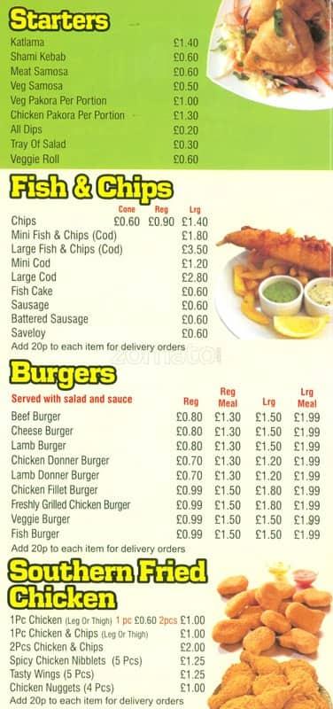 Foods junctions menu menu for foods junctions lozells birmingham foods junctions lozells menu forumfinder Choice Image