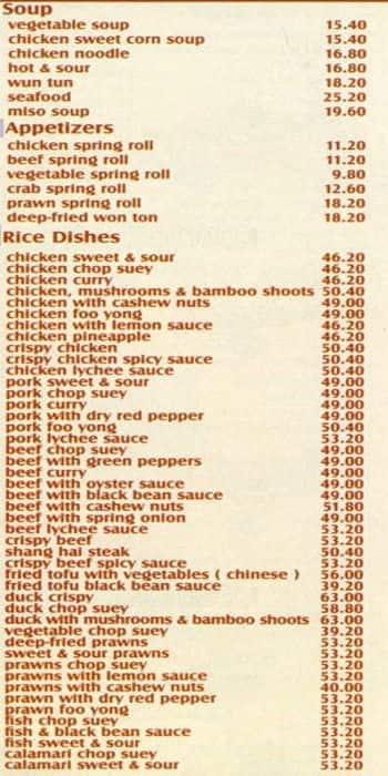 kung fu kitchen oakdene menu - Kung Fu Kitchen