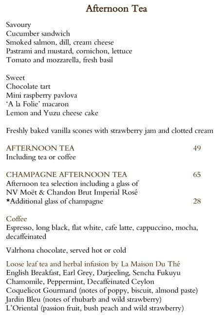Scanned Menu For Living Room   Park Hyatt Part 19