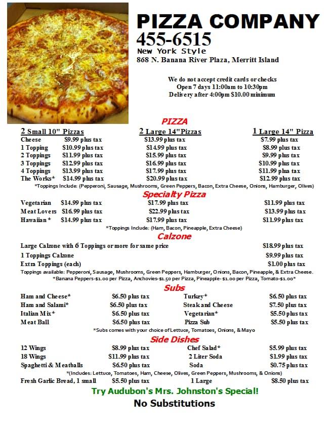 check order pizza company