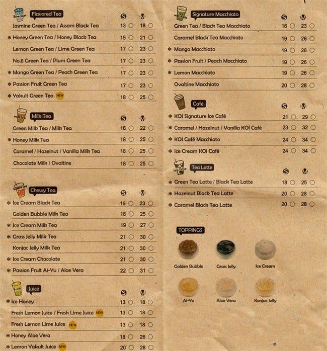 Koi Cafe Grand Indonesia