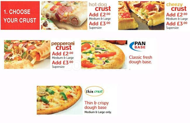 Tops Pizza Menu Menu For Tops Pizza Acton London Zomato Uk