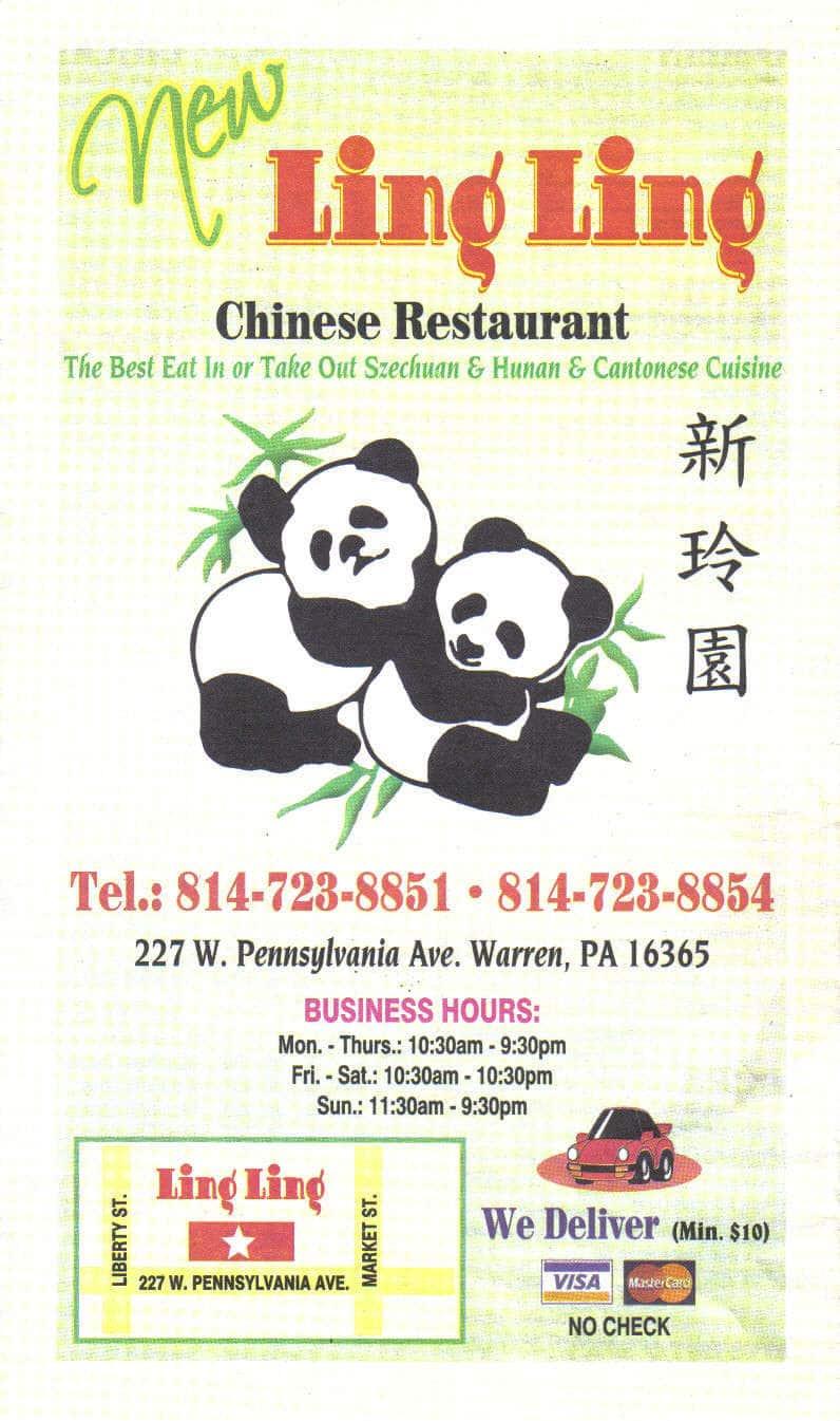 Chinese Restaurants In Warren Pa