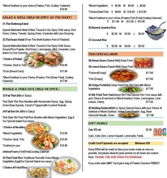 Thai Food Restaurants Nearby