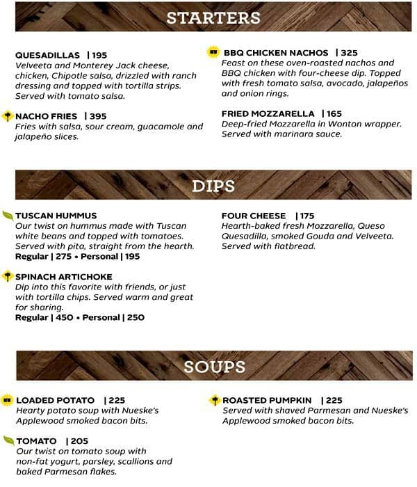 attractive California Pizza Kitchen Allergy Menu #2: California Pizza Kitchen, Mall Of Asia Complex (MOA), Pasay City .