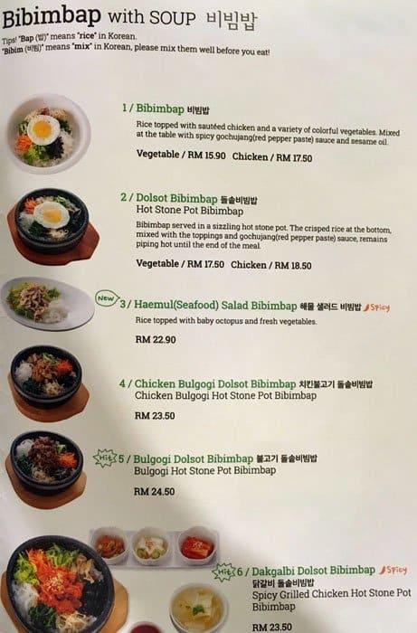 Sopoong Korean Food Ioi City Mall