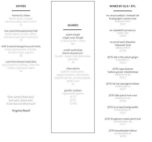 Bacar Restaurant And Bar
