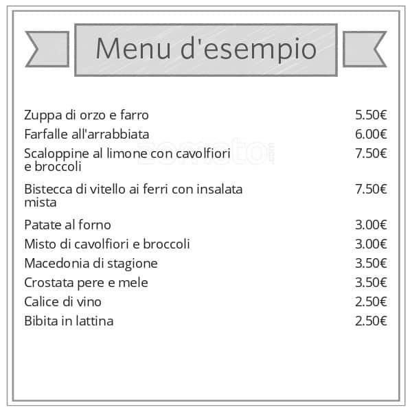 Piccola Cucina a Milano: Foto del Menu con Prezzi - Zomato Italia