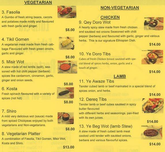Ethiopian Food New Westminster