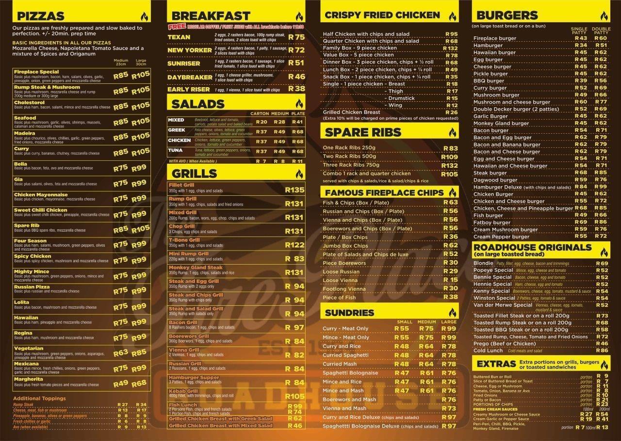 Norah Restaurant Menu