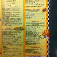 Isis Coney Island In Taylor Mi Menu