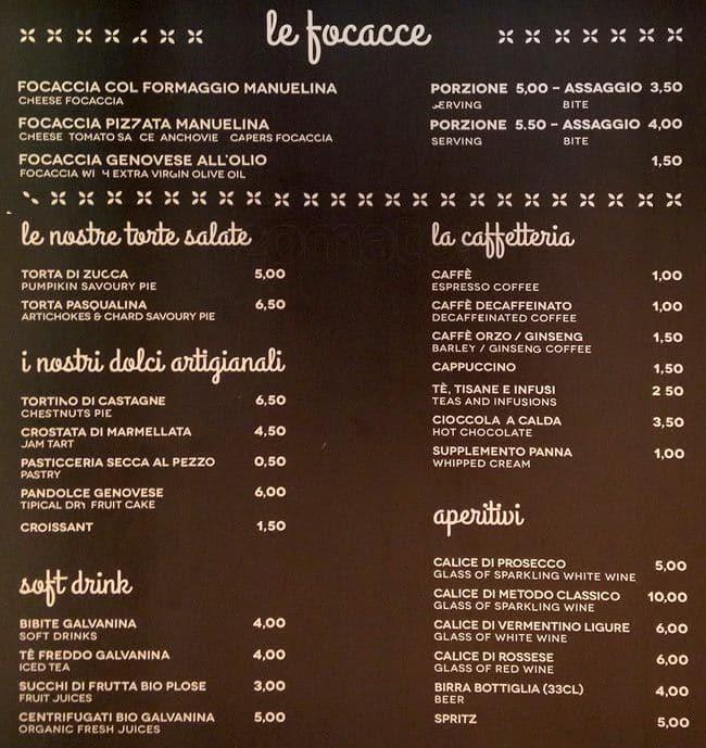 Manuelina Menu Menu For Manuelina Duomo Milano Zomato Italy