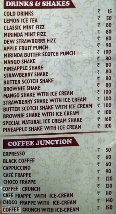 Rs Tasty Bites Menu Menu For Rs Tasty Bites Basni Jodhpur