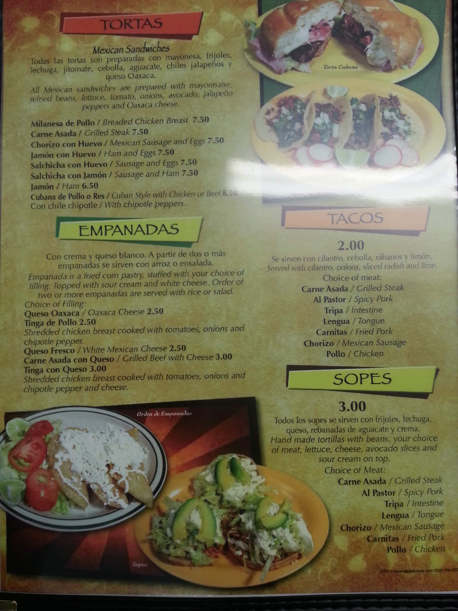La Poblanita Mexican Restaurant Menu Urbanspoon Zomato