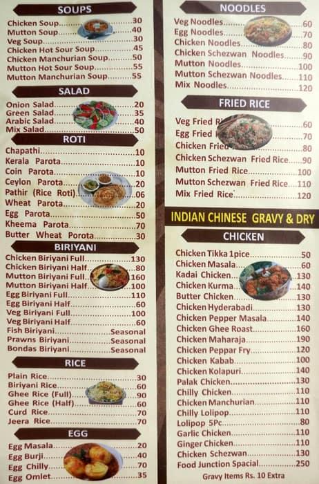 Food junction menu menu for food junction balmatta mangalore zomato food junction balmatta menu forumfinder Image collections