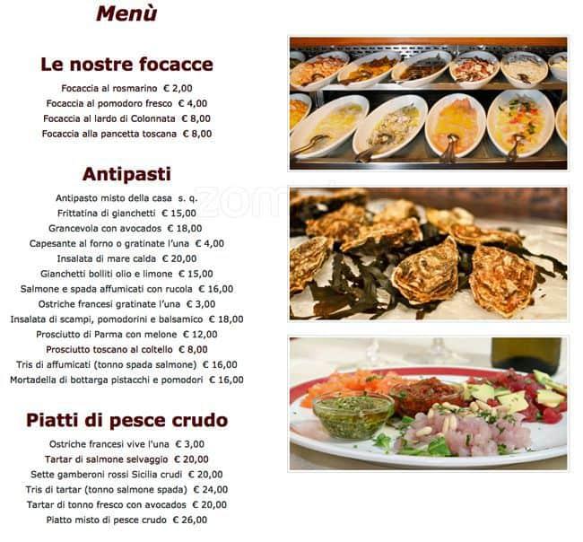Ristorante Le 5 Terre A Milano Foto Del Menu Con Prezzi Zomato Italia