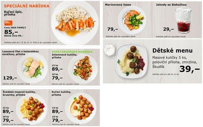 Ikea zličín restaurace menu