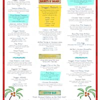 Shaggy S Biloxi Beach Menu Menu For Shaggy S Biloxi Beach Biloxi
