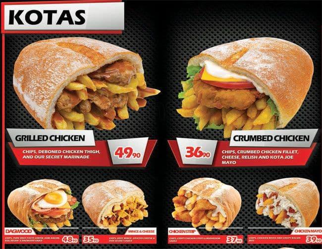 Fast Food Delivery Pretoria