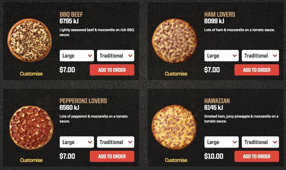 Pizza Hut Perth Perth Cbd Perth Urbanspoon Zomato