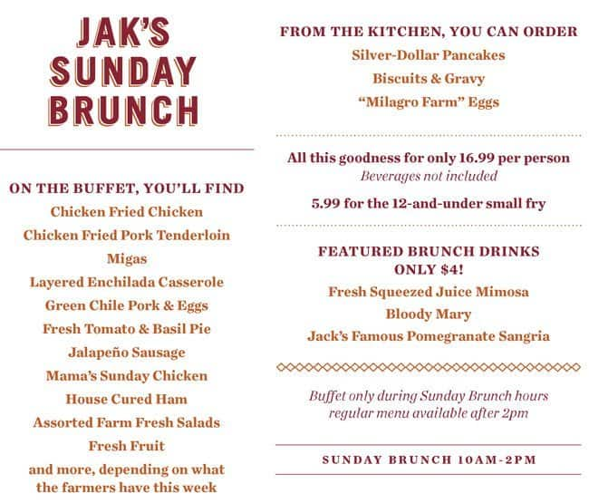 the restaurant information including the jack allens kitchen oak hill menu items and prices may have been modified since the last website update - Jack Allens Kitchen Menu