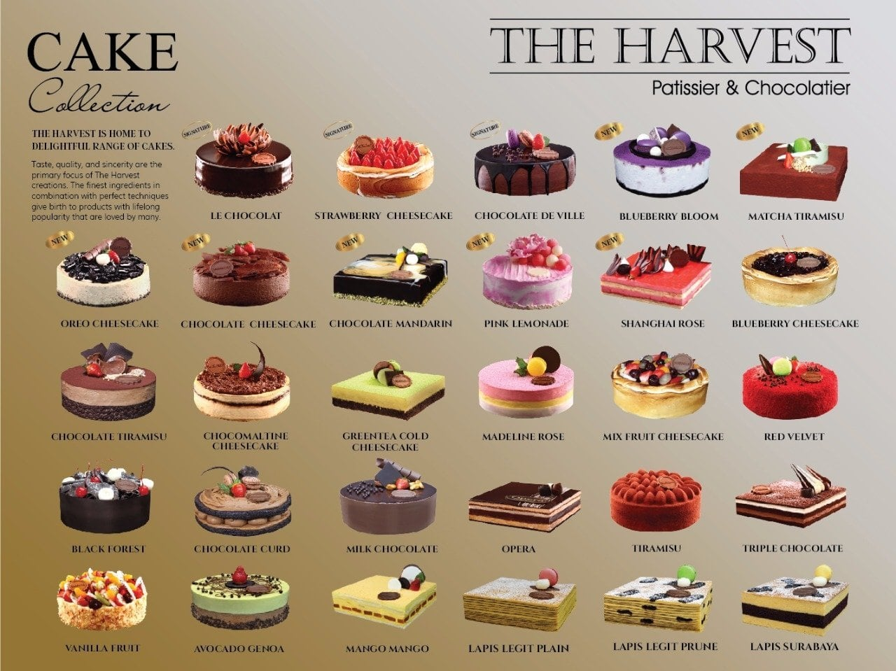 The Harvest Cake Bakery