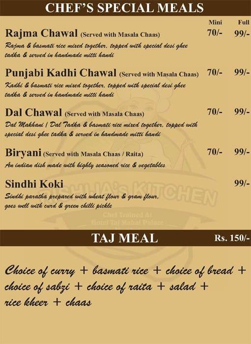 Rishija 39 s kitchen menu menu for rishija 39 s kitchen near for W kitchen verbier menu