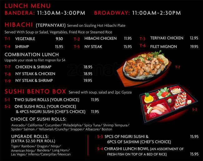 Osaka Japanese Restaurant Houston Menu And Prices