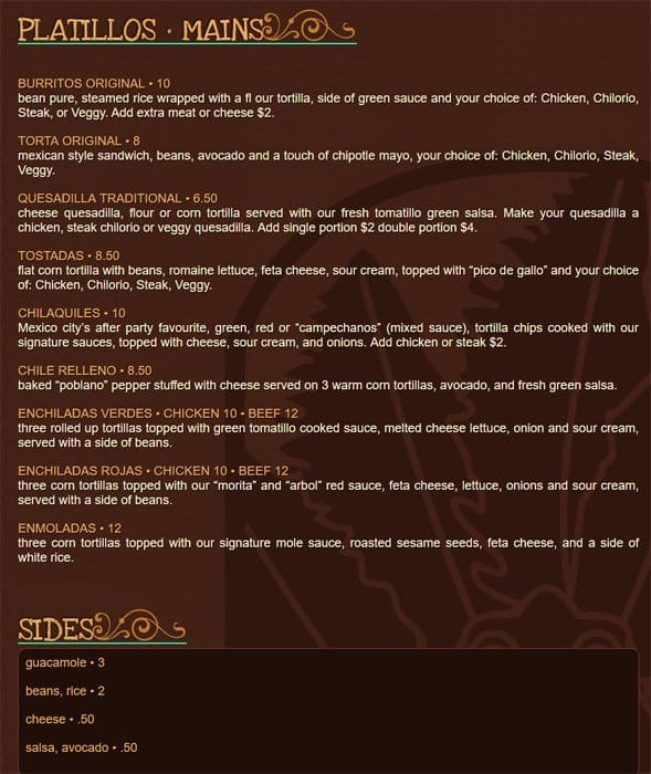 Mexican Restaurants In Port Moody