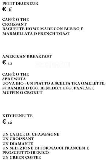 kitchenette bakery a milano foto del menu con prezzi zomato italia