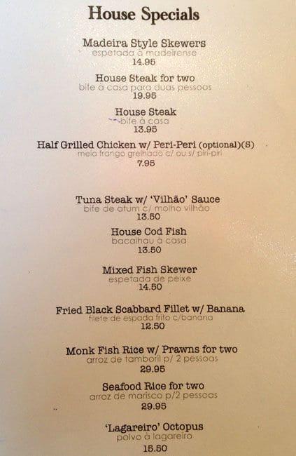 how to develop a restaurant menu