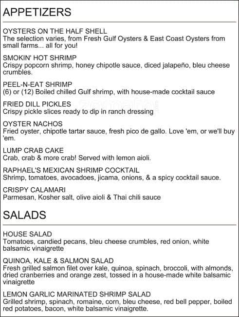 Fish city grill menu menu for fish city grill redland for City fish menu