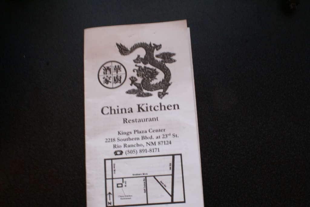 New Dragon Chinese Restaurant Albuquerque Menu